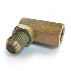 Обманка лямбда-зонда с металлическим катализатором ЕВРО-4 (угловая)