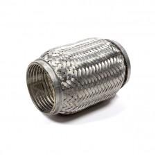 Гофра глушителя усиленная (Interlock) 45x100