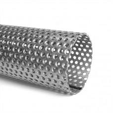 Труба из алюм. стали перфорированная D=55, 1 м