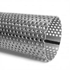 Труба из алюм. стали перфорированная D=64, 1 м